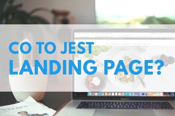 CO TO JEST LANDING PAGE lp