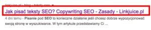 optymalizacja tytułu strony seo